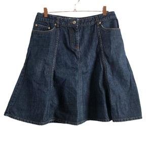 Isaac Mizrahi For Target 12 Denim Skirt